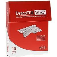 DRACOTÜLL Sil.5x5 cm silikonbes.Wundkont.Aufl. 10 St Verband preisvergleich bei billige-tabletten.eu