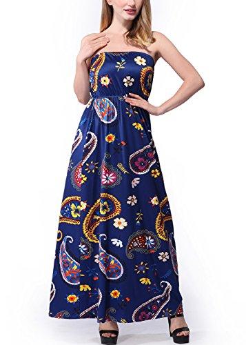 vintage-boho-stampa-floreale-senza-spalline-tubo-delle-donne-maxi-2xl-c0010-blue