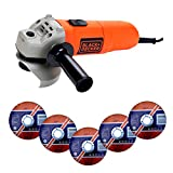 BLACK+DECKER KG115K-QS - Amoladora 750W de 115mm