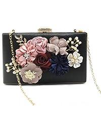 f1a72739131cb Woman Fashion Luxus hochwertige dreidimensionale Blumen Diamond  Abendtasche