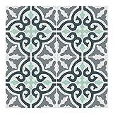 Wandkings Fliesenaufkleber 4er Set - Wähle ein Muster & Größe - 'Pia' - 33 x 33 cm
