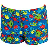 Zoggs Boy's Zoggy Printed Hip Racer Swimming Trunks