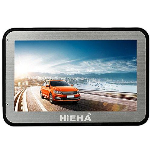"""51qffpOcIsL - BEST BUY #1 Hieha 4.3"""" inch Car GPS SAT NAV Navigation SpeedCam POI Lifetime EU UK Maps 8GB Reviews and price compare uk"""