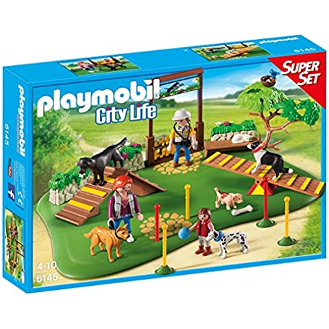 Playmobil - Parque de perros, superset (61450)