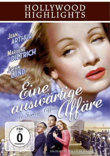 Eine auswärtige Affäre Marlene Dietrich Dvd
