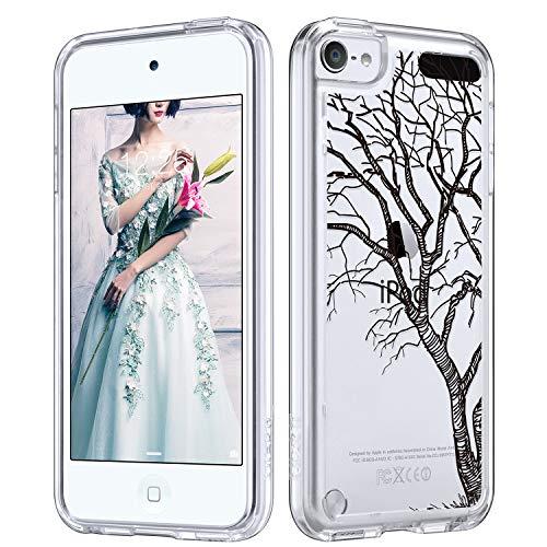 �lle, iPod 6 Hülle, Marmor, für iPod Touch 6, transparent, schlank, Kratzfest, flexibel, weiches TPU, stoßfest, Schutzhülle für Apple iPod Touch 5/6, DrawnTree ()