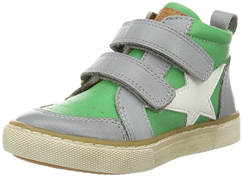 Bisgaard Unisex-Kinder Klettschuhe High-Top Grün (1001 Green)