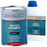 Inter Troton Pintura de imprimación reactiva, proporción 2:1, 0,8 L, incluye 0,4 L
