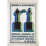 Simon and Garfunkel reproduction Concert photo affiche 40x30cms