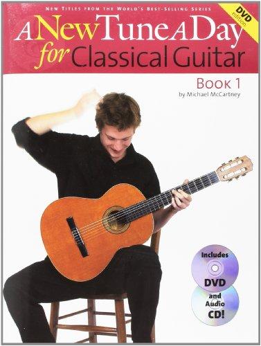 A New Tune A Day: Classical Guitar - Book 1 (DVD Edition) (Book, CD & DVD): Noten, Lehrmaterial, CD, DVD (Video) für Gitarre