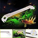 Aquarium Beleuchtung Leuchte Aquarien Eco LED Lampe Lighting 22 - 51 cm, 6 - 17 Watt, weißlicht ca. 7000K Aquarienbeleuchtung (L51CM-17W)