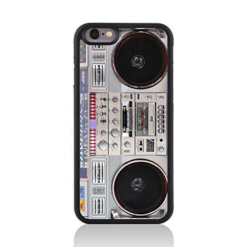 (Call Candy 122-113-085 Printed Vintage Retro Old Skool Boom Box unterstützen Stark Fall für Apple iPhone 6)