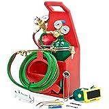 Biltek Professional Portable Torch Kit Oxygen Acetylene Oxy Welding Cutting Victor-Style Tank by Biltek