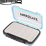 Spro Freestyle Rigged Box 15,4x10,6x4,5cm - Tacklebox für Kunstköder, Angelbox für Jighaken &...