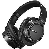 Mpow H7 Auriculares para Televsion,Cable de Audio de 3.5mm, 15hrs de Reproduccion de Música, Auriculares Diadema Cerrados con Micrófono, Cascos Bluetooth Inalámbrico