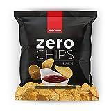 Prozis Zero Chips - Patatas fritas proteicas 25 g Queso y cebolla Bajo En Grasas Saturadas Ricas En Proteína