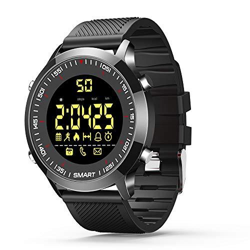 Smart Watches Bluetooth Fitness Tracker Armbanduhr für Herren Damen Sport Uhren Android und iOS(schwarz) - Beste Low-light Digital Kamera