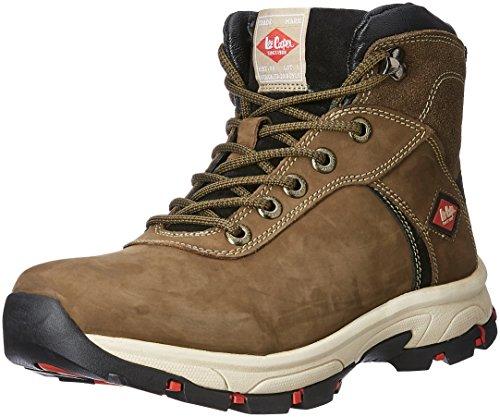 Lee cooper Men's Olive Trekking and Hiking Shoe - 9 UK