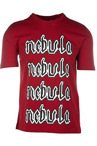 Love Moschino t-shirt maglia maniche corte girocollo uomo rosso EU M (UK 38) M 4 732 11 M 3661 O9