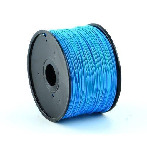 Technologyoutlet Hochwertiges PLA-Filament für 3D-Drucker, geeignet für MakerBot, RepRap, MakerGear, Ultimaker, Up etc, 1,75mm, 1kg, Hellblau Blau Outlet