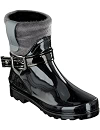 Chung Shi Duflex Walker Tahoe 9300080 - Botas de tela para mujer, color negro, talla 38