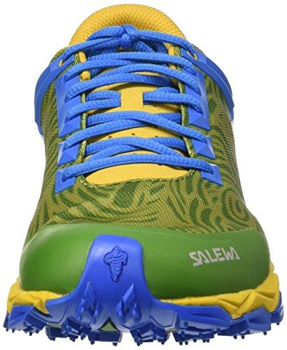 Salewa Lite Train, Chaussures Multisport Outdoor homme Vert (Mayan Blue/Papavero 8592)