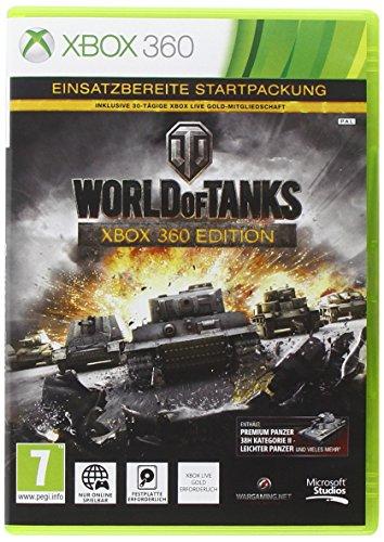 World of Tanks XB360 AT nur Online inkl 30 Tage XBLive Gold