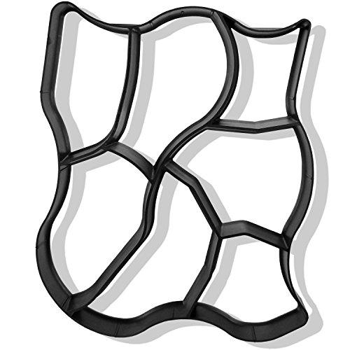 tec-gieform-betonform-natursteinpflaster-wiederverwendbare-schalungsform-fr-gartenwege-aus-pe-kunsts