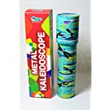 Sunny Metal Kaleidoscope for 5 Year Old Boys and Girls--Blue and Multi Color--Combo Set of 2