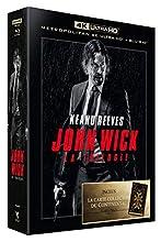 Coffret trilogie john wick : john wick 1 et 2 ; parabellum 4k ultra hd