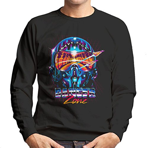 Danger Zone Miami Vice Top Gun Men's Sweatshirt