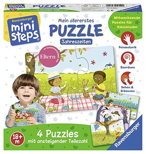 Mein allererstes Puzzle: Jahreszeiten: Ab 18 Monaten (ministeps Spiele)