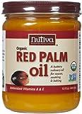 Huile de palme rouge bio, non raffinées, 15 fl oz (444 ml) - Nutiva