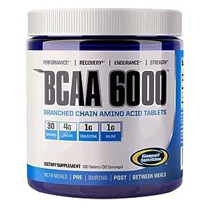 Gaspari Nutrition BCAA 6000, 1er Pack (1 x 250 g)