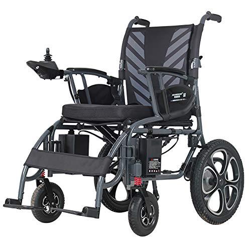 Portable Power Rollstuhl, Leicht, faltbar, Heavy Duty, Adjustable Back & Polymer Li-Ionen-Akku Wheelchai -
