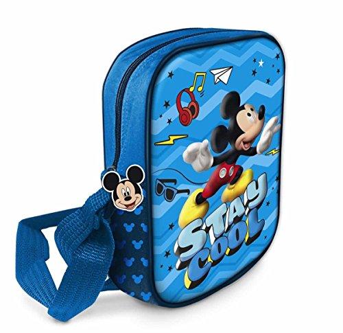 Star Licensing Disney Michey Borsa Messenger, 20 cm, Multicolore