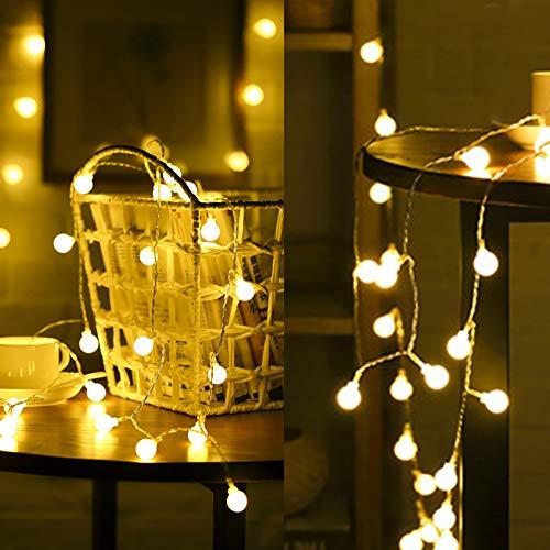 Luci da interno luci a stelline di natale a forma di stringa di luci stellate piccole luci natalizie