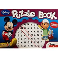 Oversized Disney Junior Word Search Activity Book: Includes Way To Go Type Stickers! 24 Pages! 2011 by Disney