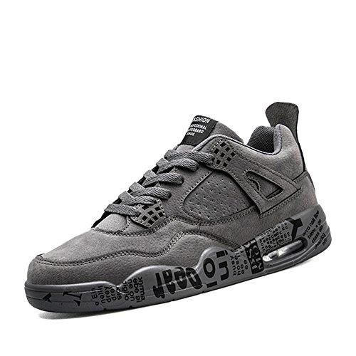 Feifei Hommes Chaussures Hiver Mouvement Loisirs Chaussures De Course 3 Couleurs (couleur: Brun, Dimensions: Eu / 41 / Uk7.5-8 / Cn42) Gris