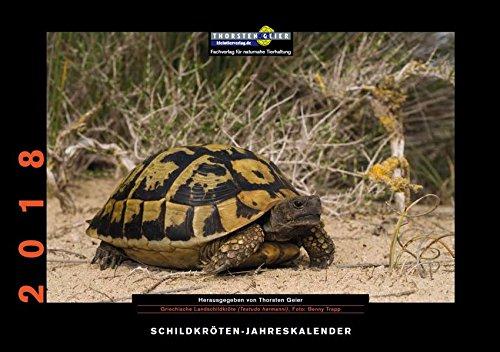 Schildkröten-Jahreskalender 2018: Herausgegeben von Thorsten Geier