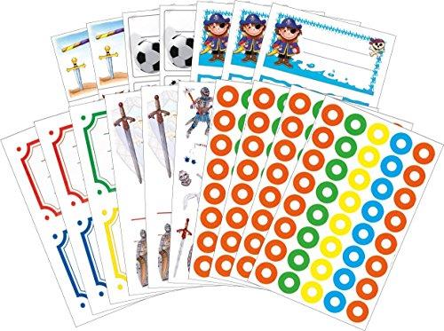 avery-zweckform-58234-boy-libro-set-per-la-scuola-etichette-adesivi-vantaggio-pack-205-adesivi