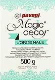 Pavoni Italia S.P.A Magic Decor Pulver 500g, 1er Pack (1 x 500 g)