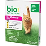 BioSpot Active Care Flea and Tick Collar for Cats, 13-Inch