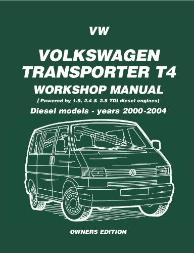 Vw transporter t4 diesel workshop manual owners edition 2000 2004 vw transporter t4 diesel workshop manual owners edition 2000 2004 brooklands manuals book 1 fandeluxe Image collections
