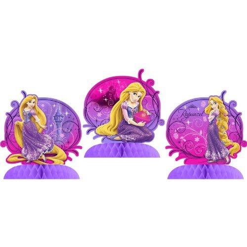 Tangled Sparkle Tabletop Centerpiece Decor (3 Count) (Rapunzel Party Decor)
