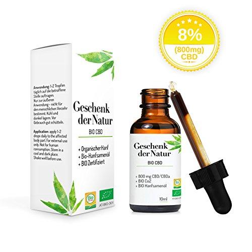 *Premium Geschenk der Natur Öl Organic | BIO (800mg)*