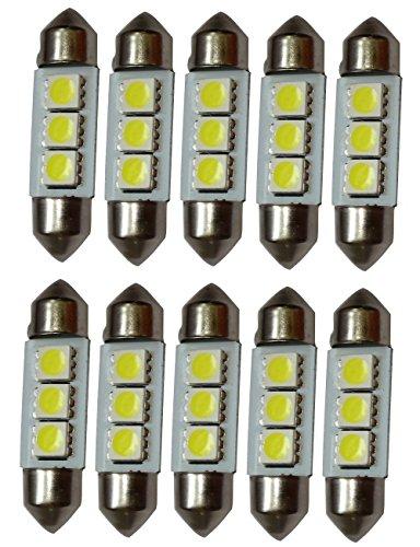 Gazechimp 2x RGB LED Ampoules Pour Voiture Plafonnier Lecteur Lampe Avec Contr/ôleur /Éclairage