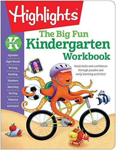 The Big Fun Kindergarten Workbook (Highlights (TM) Big Fun Activity Workbooks)