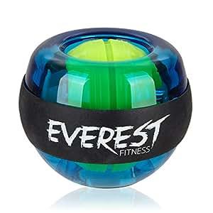 EVEREST FITNESS Energyball/Handtrainer zum Training der Hand- und Armmuskulatur mit gummiertem Griffbereich und Gehäuse aus bruchfestem Kunststoff