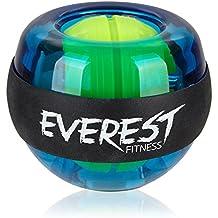 EVEREST FITNESS energyball per allenare la muscolatura di mani e braccia, con impugnatura rivestita in gomma, struttura in plastica infrangibile | 2 anni di garanzia di soddisfazione | hand trainer, gyroball, gyrotwister